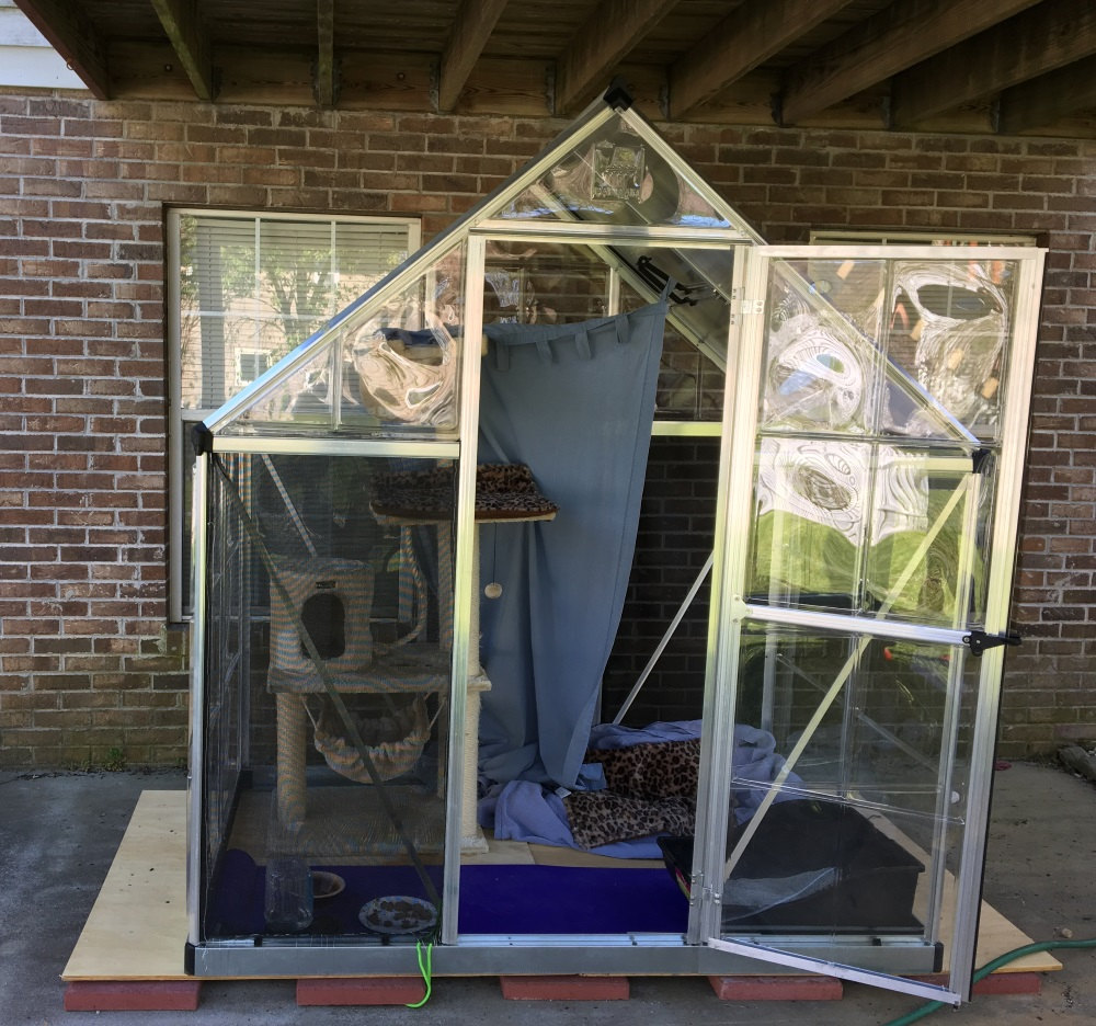 Safe Places To Travel Outside Us: Easy-ish Way To Make A Catio