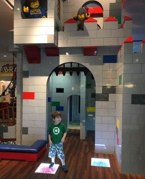 Castle in Legoland Hotel