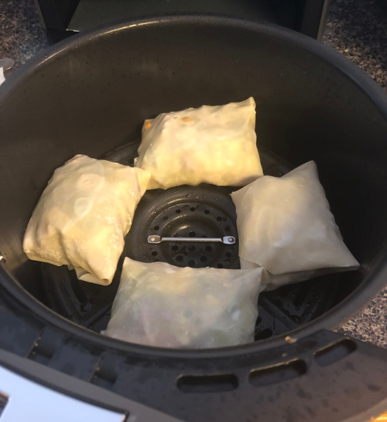 eggrolls cooking
